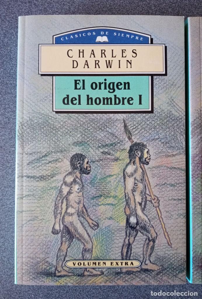 Libros de segunda mano: El Origen del Hombre Charles Darwin - Foto 2 - 265476024