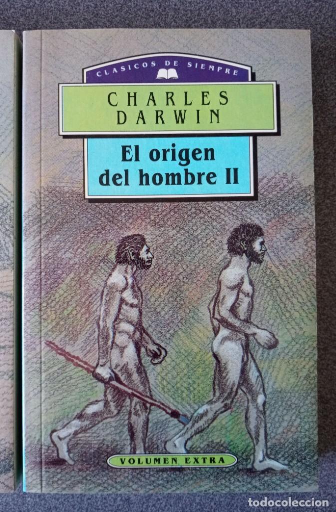 Libros de segunda mano: El Origen del Hombre Charles Darwin - Foto 3 - 265476024