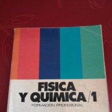 Libri di seconda mano: FÍSICA Y QUÍMICA 1 FP SM. (PEDIDO MÍNIMO 3 €). Lote 266390348
