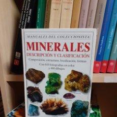 Libri di seconda mano: MINERALES DESCRIPCIÓN Y CLASIFICACIÓN. Lote 266488603
