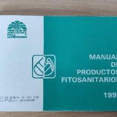 Libros de segunda mano: MANUAL DE PRODUCTOS FISIOSANITARIOS. 1992. MINISTERIOS DE AGRICULTURA, PESCA Y ALIMENTACIÓN. Lote 266995739
