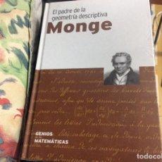 Libri di seconda mano: MONGE EL PADRE DE LA GEOMETRIA DESCRIPTIVA GENIOS MATEMATICAS PRECINTADO. Lote 267682109