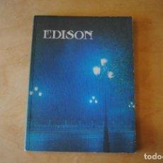 Libros de segunda mano de Ciencias: LIBRO EDISON. Lote 268424629