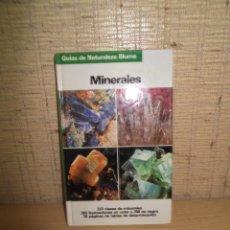 Libros de segunda mano: LIBRO MINERALES.EDITORIAL BLUME 1983. Lote 268737214
