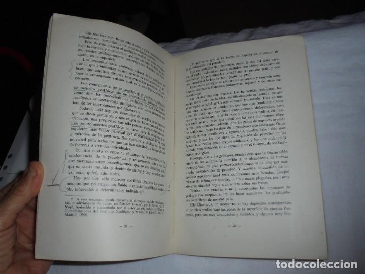 Libros de segunda mano: POSIBILIDADES PETROLIFERAS DEL SUBSUELO ESPAÑOL.JOSE MARIA RIOS .EDITORIAL ALHAMBRA MADRID 1958 - Foto 5 - 268987929
