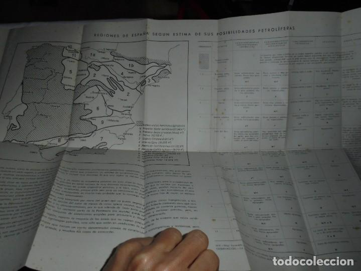 Libros de segunda mano: POSIBILIDADES PETROLIFERAS DEL SUBSUELO ESPAÑOL.JOSE MARIA RIOS .EDITORIAL ALHAMBRA MADRID 1958 - Foto 11 - 268987929
