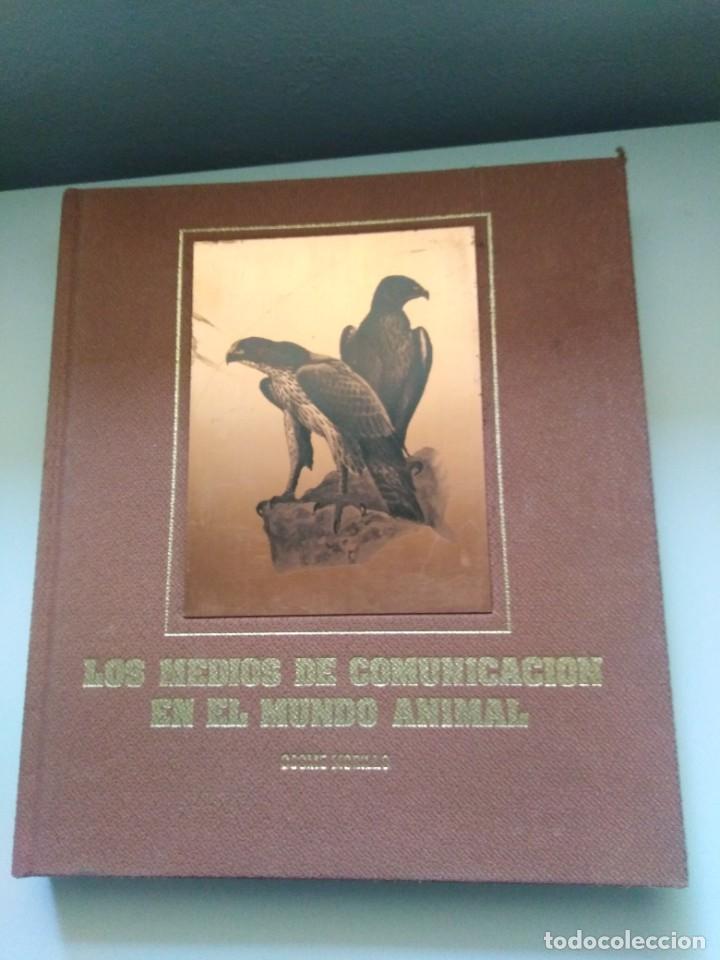 LOS MEDIOS DE COMUNICACION EN EL MUNDO ANIMAL COSME MORILLO EDITADO CYR CONSULTIN 1978. (Libros de Segunda Mano - Ciencias, Manuales y Oficios - Biología y Botánica)