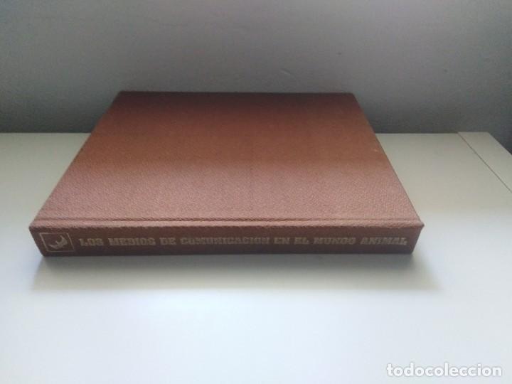 Libros de segunda mano: LOS MEDIOS DE COMUNICACION EN EL MUNDO ANIMAL COSME MORILLO EDITADO CYR CONSULTIN 1978. - Foto 3 - 269093143