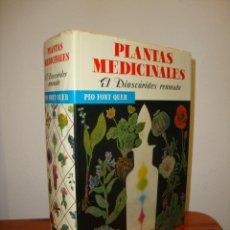 Libros de segunda mano: PLANTAS MEDICINALES. EL DIOSCÓRIDES RENOVADO. ED. COMPLETA - PIO FONT QUER - LABOR, MUY BUEN ESTADO. Lote 269186453