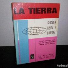 Libros de segunda mano: 26- LA TIERRA, GEOGRAFÍA FÍSICA Y HUMANA , PRIMER CURSO - YOLANDA CORDERO MELO. Lote 269190393