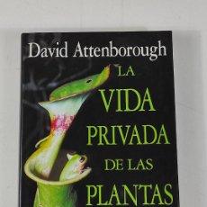 Libros de segunda mano: LA VIDA PRIVADA DE LAS PLANTAS - DAVID ATTENBOROUGH - EDITORIAL PLANETA, BARCELONA - 1995. Lote 269335558