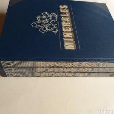 Libros de segunda mano: LOS MINERALES. DE LA A A LA Z.. 3 VOLUMENES EDICIONES NUEVA LENTE. Lote 269446733