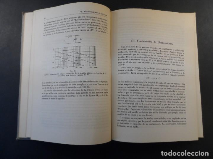 Libros de segunda mano de Ciencias: RADIOTECNICA TEORIA Y PRACTICA. DR. J. DURRWANG Editorial Gustavo Gili. BUENOS AIRES ED. AÑO 1948 - Foto 5 - 269722633