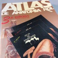 Libros de segunda mano: ANTIGUO ATLAS DE ANATOMÍA ROL B. BRAUN-DEXON. Lote 269846858