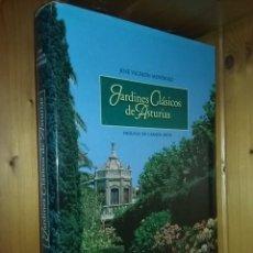 Libros de segunda mano: JARDINES CLASICOS DE ASTURIAS, JOSE VALDEON MENENDEZ, CAJASTUR, 1999. Lote 269850598