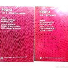Livros em segunda mão: FISICA 2 VOLUMENES- I MECÁNICA Y II CAMPOS Y ONDAS - MARCELO ALONSO, EDWARD J. FINN. Lote 269985353