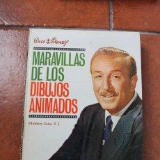 Libros de segunda mano: MARAVILLAS DE LOS DIBUJOS ANIMADOS; WALT DISNEY; EDICIONES GAISA S.L.. Lote 270002603