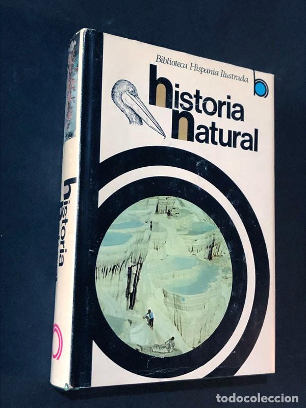 HISTORIA NATURAL / RAMÓN SOPENA / BIBLIOTECA HISPANIA ILUSTRADA / AÑO 1978 (Libros de Segunda Mano - Ciencias, Manuales y Oficios - Biología y Botánica)