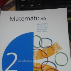 Libros de segunda mano de Ciencias: MATEMÁTICAS 2 BACHILLERATO (MADRID, 2003). Lote 270627048