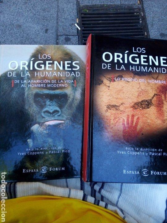 LOS ORÍGENES DE LA HUMANIDAD, DOS TOMOS. YVES COPPENS Y PASCAL PICQ. (Libros de Segunda Mano - Ciencias, Manuales y Oficios - Paleontología y Geología)