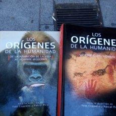 Libros de segunda mano: LOS ORÍGENES DE LA HUMANIDAD, DOS TOMOS. YVES COPPENS Y PASCAL PICQ.. Lote 272236738