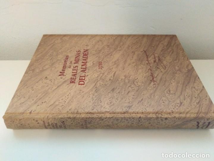 Libros de segunda mano: MEMORIAS DE LAS REALES MINAS DEL ALMADEN 1783 AGUSTIN DE BETANCOURT Y MOLINA - Foto 2 - 273968633