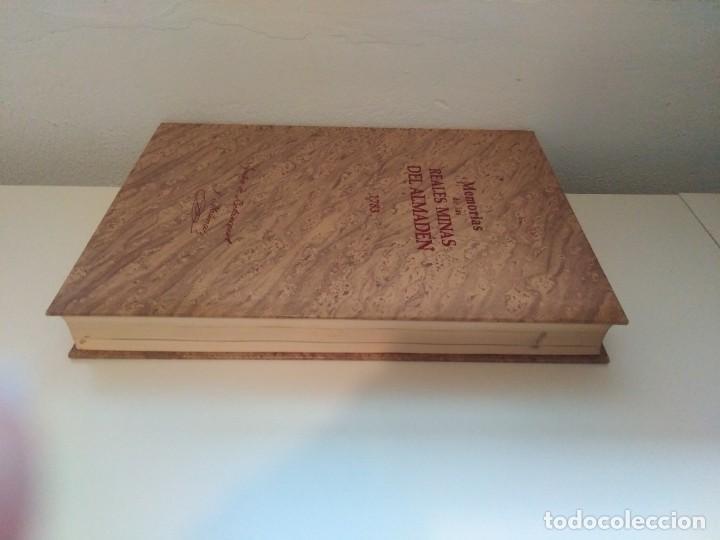 Libros de segunda mano: MEMORIAS DE LAS REALES MINAS DEL ALMADEN 1783 AGUSTIN DE BETANCOURT Y MOLINA - Foto 3 - 273968633
