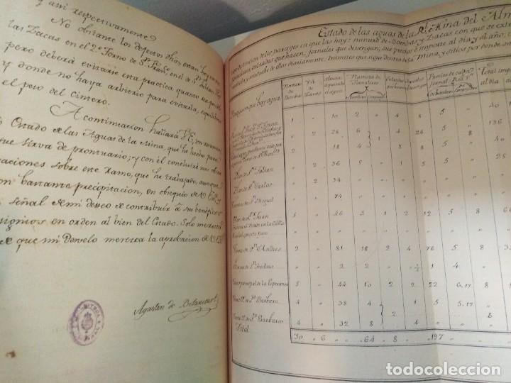 Libros de segunda mano: MEMORIAS DE LAS REALES MINAS DEL ALMADEN 1783 AGUSTIN DE BETANCOURT Y MOLINA - Foto 7 - 273968633