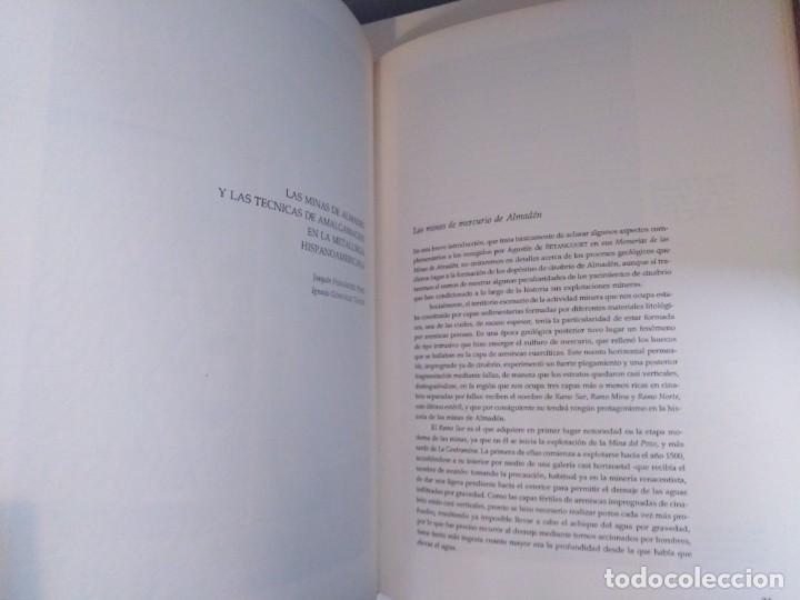 Libros de segunda mano: MEMORIAS DE LAS REALES MINAS DEL ALMADEN 1783 AGUSTIN DE BETANCOURT Y MOLINA - Foto 9 - 273968633