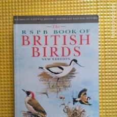 Libros de segunda mano: THE RSPB BOOK OF BRITISH BIRDS AVES PETER HOLDEN J T R SHARROCK. Lote 274230808