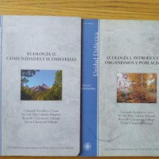 Libros de segunda mano: ECOLOGIA, OBRA COMPLETA. CIENCIAS AMBIENTALES DE LA UNED. CONSUELO ESCOLASTICO Y OTROS. 2006. Lote 274383818