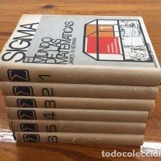 Libros de segunda mano de Ciencias: SIGMA: EL MUNDO DE LAS MATEMATICAS. Lote 275096933