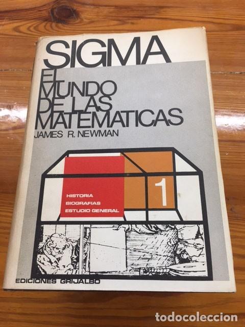 Libros de segunda mano de Ciencias: SIGMA: El mundo de las matematicas - Foto 2 - 275096933