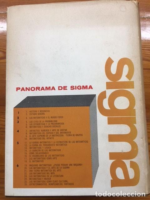 Libros de segunda mano de Ciencias: SIGMA: El mundo de las matematicas - Foto 3 - 275096933