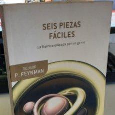 Libri di seconda mano: SEIS PIEZAS FÁCILES LA FÍSICA EXPLICADA POR UN GENIO - FEYNMAN, RICHARD P.. Lote 275135113