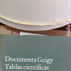 Libros de segunda mano de Ciencias: DOCUMENTA GEIGY TABLAS CIENTÍFICAS. Lote 275930848