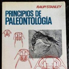 Libros de segunda mano: PRINCIPIOS DE PALEONTOLOGIA - RAUP - STANLEY - ARIEL. Lote 276638078