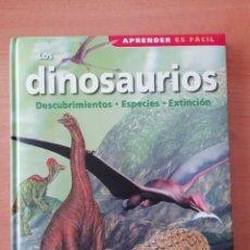 Libros de segunda mano: LOS DINOSAURIOS. DESCUBRIMIENTOS, ESPECIES, EXTINCIÓN. Lote 276672098