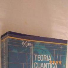 Libros de segunda mano de Ciencias: TEORÍA CUÁNTICA DE ÁTOMOS, MOLÉCULAS Y FOTONES. J. AVERY. EDITORIAL ALHAMBRA, 1975. 1ª EDICIÓN.. Lote 277071768