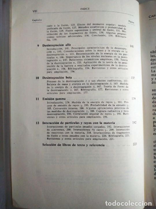 Libros de segunda mano de Ciencias: INTRODUCCIÓN AL NÚCLEO ATÓMICO. J. B. CUNINGHAME. EDITORIAL ALHAMBRA, 1966. 1ª EDICIÓN. - Foto 5 - 277072288
