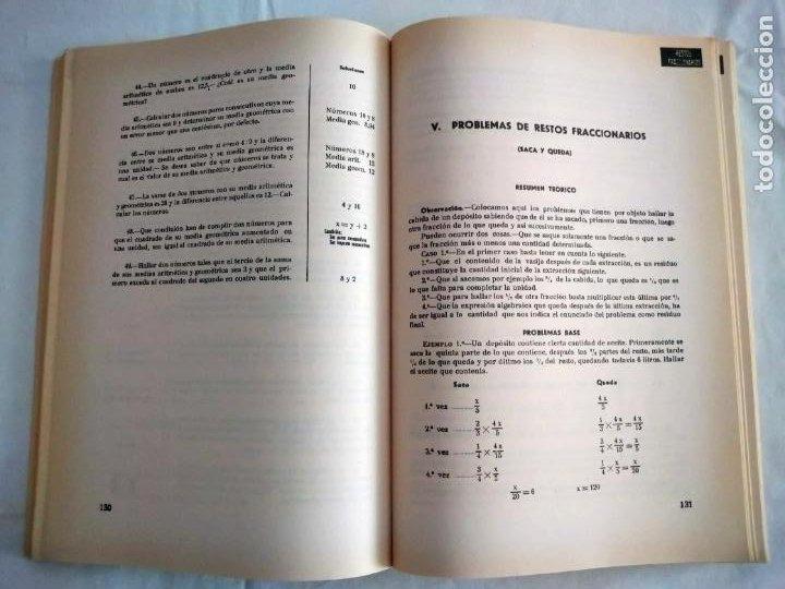 Libros de segunda mano de Ciencias: PROBLEMAS AUTODIDÁCTICOS. GRADO ELEMENTAL. ANTONIO INIESTA. AFRODISIO AGUADO, 1964. - Foto 4 - 277074068