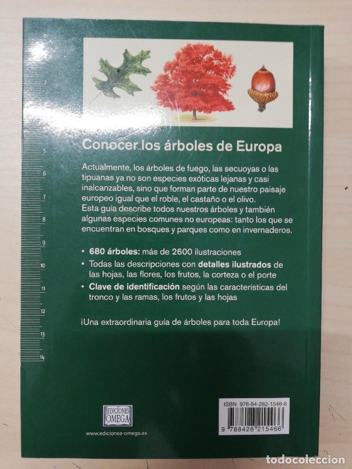 Libros de segunda mano: ARBOLES DE EUROPA.NUEVA GUIA DE CAMPO (GUIAS DEL NATURALISTA-ARBOLES Y ARBUSTOS). SPOHN. 2011 - Foto 4 - 277187248