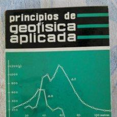 Libros de segunda mano: PRINCIPIOS DE GEOFISICA APLICADA D.S. PARASNIS PARANINFO 1970. Lote 277252928