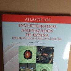Libros de segunda mano: INVERTEBRADOS AMENAZADOS DE ESPAÑA. Lote 277300193