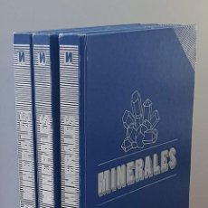 Libros de segunda mano: LOS MINERALES. TOMOS I, II Y III ( TRES TOMOS, OBRA COMPLETA / ED. NUEVA LENTE) - V.V.A.A.. Lote 277476378