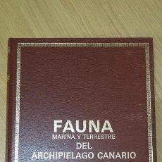Libros de segunda mano: FAUNA Y FLORA DEL ARCHIPIÉLAGO CANARIO ED. EDIRCA - 4 TOMOS. Lote 277600768