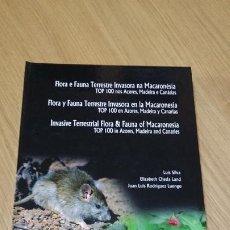 Libros de segunda mano: FLORA Y FAUNA TERRESTRE INVASORA EN LA MACARONESIA. Lote 277657628