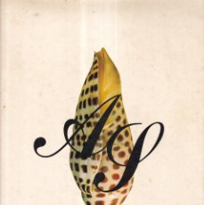 Libros de segunda mano: AG CONCHAS MARINAS - HISTORIA DE LAS CONCHAS, MALACOLOGÍA - PEDRO SADURNÍ 1972. Lote 277688798