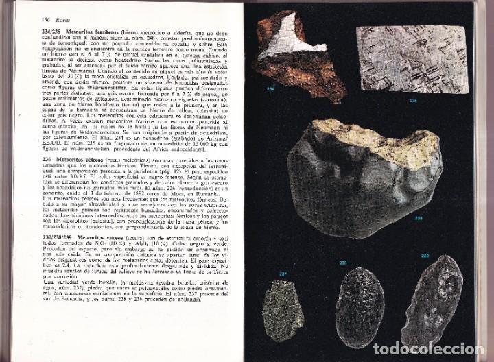 Libros de segunda mano: ROCAS Y MINERALES - WALTER SCHUMANN - EDITORIAL OMEGA 1974 - Foto 6 - 277745948
