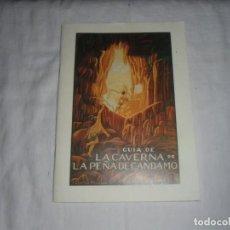 Libri di seconda mano: GUIA DE LA CAVERNA DE LA PEÑA DE CANDAMO.EDUARDO HERNANDEZ PACHECO.MADRID 1953. Lote 278293983